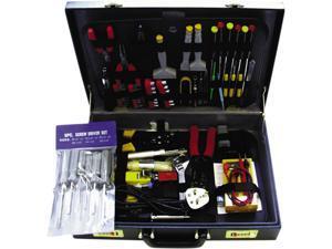 BELKIN F8E076 Computer Technician Maintenance Tool Kit in Briefcase - 78 Piece