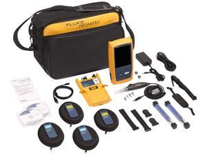 Fluke Networks OFP-100-QI OptiFiber Pro Quad OTDR Fiber Optic Cable Tester with Built-In VFL and Inspection Kit