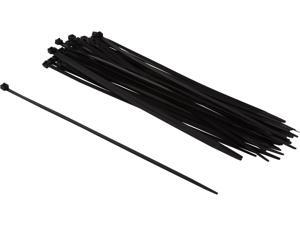 """C2G 43223 50pk 11.5"""" Releasable/Reusable Cable Ties"""