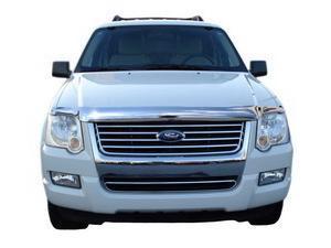 Auto Ventshade Chrome Hood Shield