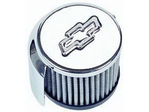 Proform 141-621 Proform 141-621 Oil Breather Cap&#59; Bow Tie Emblem - Push In Style