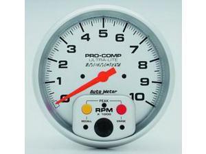 Auto Meter Ultra-Lite In-Dash Single Range Tachometer