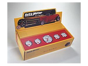 Auto Meter 1300 Arctic White Street Rod Kit