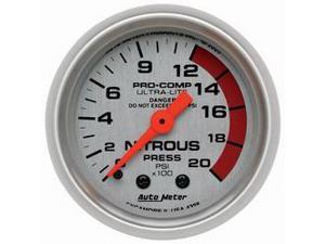 Auto Meter Ultra-Lite Mechanical Nitrous Pressure Gauge