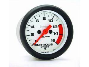 Auto Meter Phantom Electric Nitrous Pressure Gauge