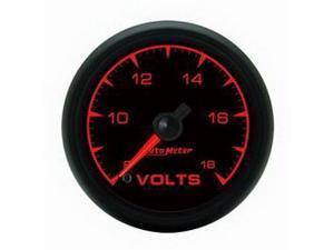 Auto Meter ES Electric Voltmeter