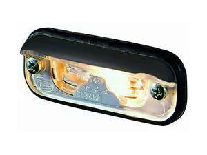 Hella 1378 License Plate Lamp