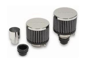 Moroso Push-In Filtered Breather Kit