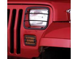 Rugged Ridge 11230.02 Euro Guard Set, Headlight And Turn Signal, 87-95 Jeep Wrangler YJ