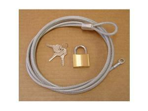 Rugged Ridge 133030.01 Car Cover Lock And Cable Kit