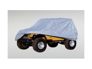 Rugged Ridge 133210.02 Deluxe Cab Cover, 76-06 Jeep CJ And Wrangler