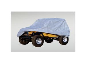 Rugged Ridge 13321.51 Weather Lite Full Jeep Cover, 76-95 Jeep CJ And Wrangler