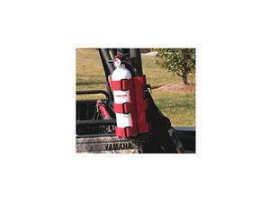 Rugged Ridge 63305.20 Fire Extinguisher Holder, Red