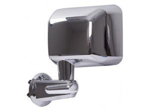 Rugged Ridge 11010.13 Door Mirror, Chrome, Left Side, 07-14 Jeep Wrangler JK