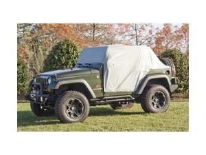Rugged Ridge 13317.10 Weather Lite Cab Cover, 07-14 Jeep Wrangler JK