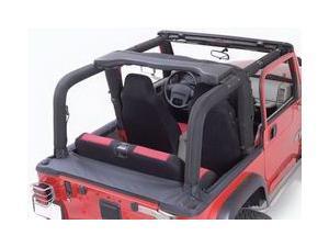 Rugged Ridge 13611.15 Full Roll Bar Cover Kit, 92-95 Jeep Wrangler YJ