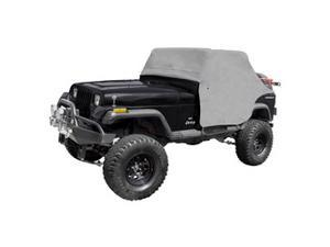 Rugged Ridge 133100.09 Cab Cover, Gray, 87-91 Jeep Wrangler YJ