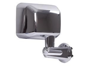 Rugged Ridge 11010.12 Door Mirror, Right Side, Chrome, 07-14 Jeep Wrangler JK