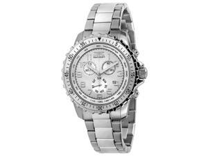 Invicta II 6620 Men's Silver Dial Stainless Steel Chronograph Watch