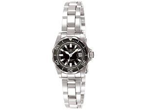 Invicta Women's Signature Stainless Steel Black Dial