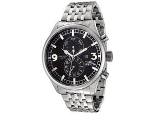 Men's Specialty Stainless Steel Black Dial