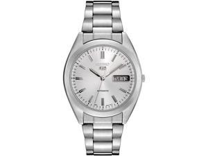 Seiko Men's Automatic Silver Dial Stainless Steel