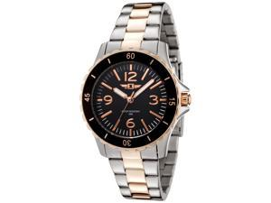 I By Invicta 89051-005 Women's Two-Tone Stainless Steel Black Dial Luminous Hands Ss Watch