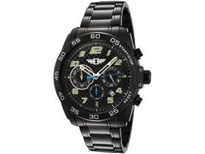 I By Invicta 90187-004 Men's Chronograph Black Ion Plated Stainless Steel Watch