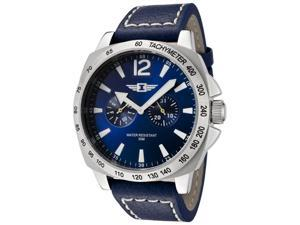 I By Invicta 43660-002 Men's Blue Dial Blue Leather Watch