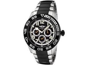 I By Invicta 43658-004 Men's Multi-Function Two-Tone Stainless Steel Black Dial Ss Watch
