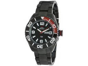 Swiss Precimax Men's Deep Blue SP12006 Black Stainless-Steel Swiss Quartz Watch with Black Dial