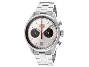 Tag Heuer Men's Automatic Carrera Chronograph Silver Dial Stainless Steel