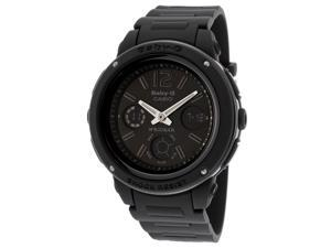 Casio G-Shock Baby G Black Multifunction Rubber Womens Watch BGA151-1BCR