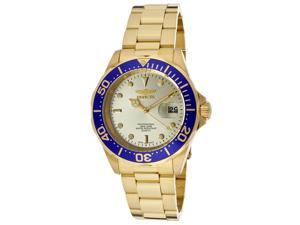 Men's Pro Diver Gold Tone Dial 18K Gold Plated Stainless Steel