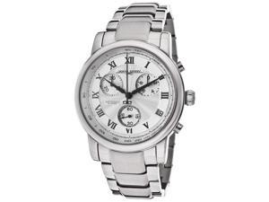 Jorg Gray Men's Chronograph Silver Textured Dial Stainless Steel