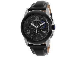 Jorg Gray JG9400-12 Swiss ISA Chrono Black Dial Men's Watch
