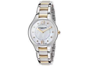 Raymond Weil Noemia Pearl Diamond Dial Two Tone Steel Watch 5132-STP-00985