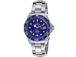 Invicta 17056 Men's Pro Diver Stainless Steel Blue Dial Ss Watch