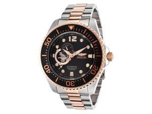 Men's Pro Diver Automatic Silver-Tone and Rose 18K Gold Plated Steel