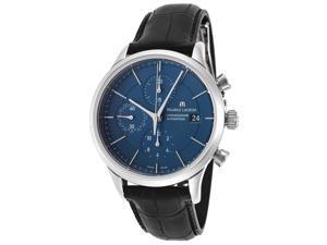 Men's Les Classique Automatic Chronograph Power Reserve Blue Dial