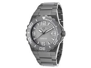 Swiss Legend 10008-Gm-104 Expedition Gunmetal Ip Ss Grey Dial Ip Ss Watch