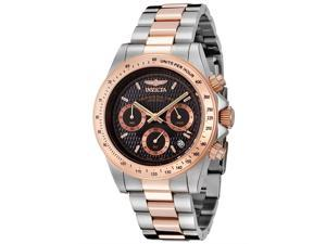 Invicta Men's Speedway/Professional Chronograph Two Tone Stainless Steel