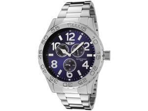I by Invicta Men's Blue Dial Stainless Steel Watch