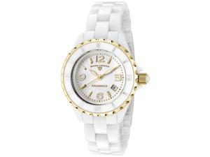 SWISS LEGEND Women's Karamica White Dial White High-Tech Ceramic