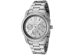 Women's Angel Multi-Function Stainless Steel Silver-Tone Dial