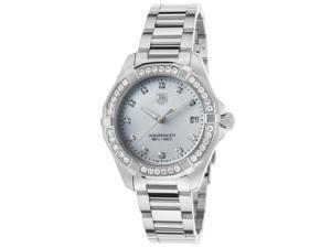 Women's Aquaracer Diamond SS MOP Dial Diamond Bezel