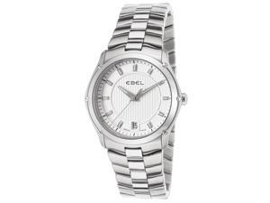 Women's Classic Sport Stainless Steel Silver-Tone Dial