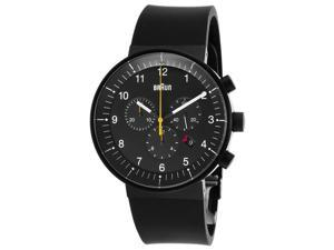 Men's Prestige Chronograph Black Rubber, Dial and Case