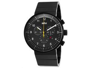 Braun Bn-0095-Bkbkbtg Men's Prestige Chronograph Black Ip Ss, Dial And Ip Ss Watch