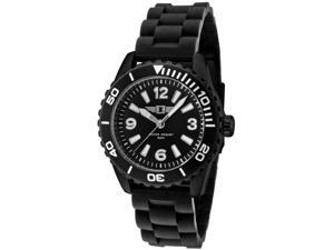 I By Invicta 20031-004 Men's Black Dial Black Textured Silicon Watch